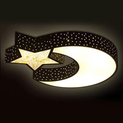 Led 36w modern cartoon star moon ceiling light 220v 10140 free led 36w modern cartoon star moon ceiling light 220v aloadofball