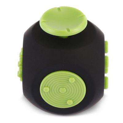 Rounded Edge ABS Fidget CubeNovelty Toys<br>Rounded Edge ABS Fidget Cube<br><br>Features: Creative Toy<br>Materials: ABS<br>Package Contents: 1 x Fidget Cube<br>Package size: 5.50 x 5.50 x 6.00 cm / 2.17 x 2.17 x 2.36 inches<br>Package weight: 0.0700 kg<br>Product size: 4.00 x 4.00 x 4.70 cm / 1.57 x 1.57 x 1.85 inches<br>Product weight: 0.0340 kg<br>Series: Entertainment<br>Theme: Other