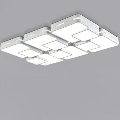 108W LED Creative Simple Rectangle Ceiling Light 220V
