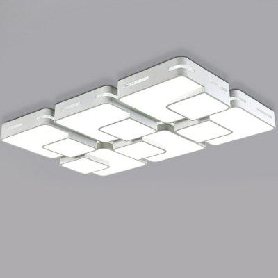 32W 3000LM LED Simple Rectangle Shape Ceiling Light 220V