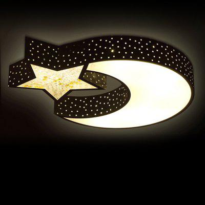 LED 30W 2700LM Cartoon Star + Moon Ceiling Light 220V