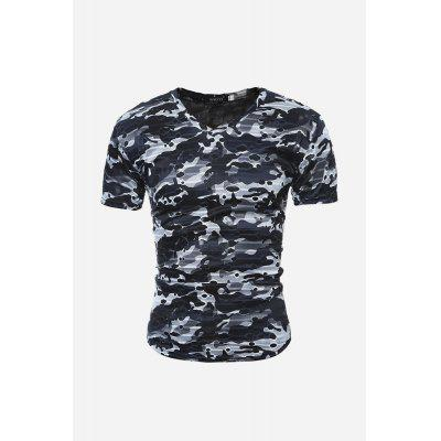 Men Fashion Ripped T-shirt
