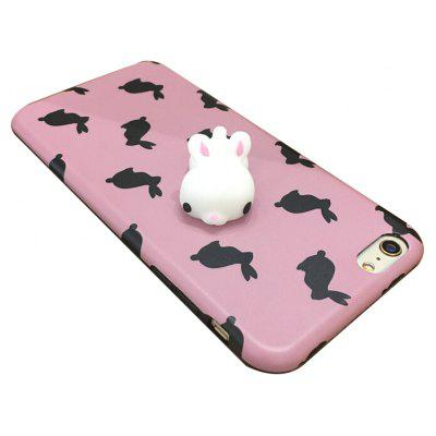 3D Rabbit Doll TPU Phone Case