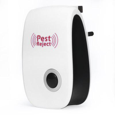 Ultraschall Mouse Bug Pest Repeller Moskito Insekt Schabe Electronic Rejector - EU Stecker