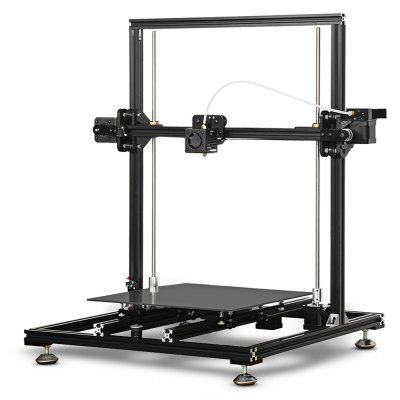 ChinaBestPrices - Tronxy X3S Aluminum Frame LCD Screen  3D Printer DIY Kit