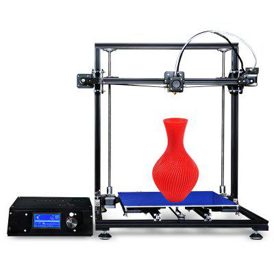 Tronxy X3S Aluminum Frame LCD Screen  3D Printer DIY Kit3D Printers, 3D Printer Kits<br>Tronxy X3S Aluminum Frame LCD Screen  3D Printer DIY Kit<br><br>Brand: Tronxy<br>File format: STL, G-code<br>Frame material: Aluminium Extrusion<br>Host computer software: Cura,Repetier-Host<br>Language: Chinese,English<br>Layer thickness: 0.1-0.4mm<br>LCD Screen: Yes<br>Material diameter: 1.75mm<br>Model: X3S<br>Nozzle diameter: 0.4mm<br>Nozzle temperature: 170-275 Degree<br>Package size: 58.00 x 38.00 x 19.00 cm / 22.83 x 14.96 x 7.48 inches<br>Package weight: 12.0000 kg<br>Packing Contents: 1 x Tronxy X3S 3D Printer DIY Kit<br>Packing Type: unassembled packing<br>Print speed: 20 - 150mm/s<br>Product forming size: 300 x 300 x 400mm<br>Product size: 52.00 x 49.00 x 49.80 cm / 20.47 x 19.29 x 19.61 inches<br>Product weight: 10.0000 kg<br>Supporting material: ABS, HIPS, PC, Wood, PVC, PLA, PVA<br>System support: Mac, XP,  Win7<br>Type: DIY<br>Voltage: 110V/220V<br>XY-axis positioning accuracy: 0.012mm<br>Z-axis positioning accuracy: 0.004mm