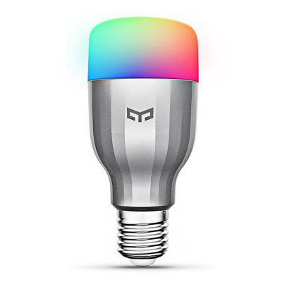 Xiaomi Smart Home DevicesSmart Lighting<br>Xiaomi Smart Home Devices<br><br>Available Light Color: Colorful<br>Brand: Xiaomi<br>Features: WiFi, Remote Control, Long Life Expectancy, Easy to use, APP Control<br>Function: Home Lighting<br>Holder: E27,Wireless<br>Lifespan: 25000h<br>Luminous Flux: 600lm<br>Output Power: 9W<br>Package Contents: 1 x Yeelight, 1 x Air Conditioning Companion, 1 x Magic Cube Controller<br>Package size (L x W x H): 20.00 x 20.00 x 16.00 cm / 7.87 x 7.87 x 6.3 inches<br>Package weight: 0.5200 kg<br>Product size (L x W x H): 18.00 x 18.00 x 14.00 cm / 7.09 x 7.09 x 5.51 inches<br>Product weight: 0.3250 kg<br>Sheathing Material: Glass<br>Voltage (V): AC 220