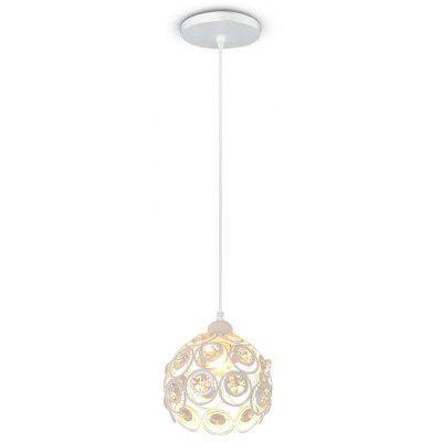 LightMyself Crystal Trimmed Pendant Light