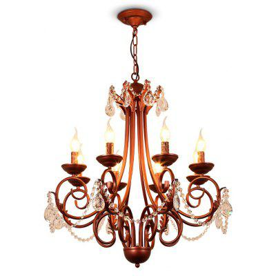 LightMyself YQ1018 - 8 Crystal Chandelier