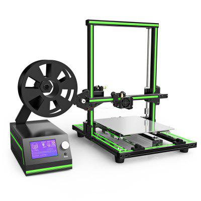 Anet E10 Aluminum Frame Multi-language 3D Printer DIY Kit3D Printers, 3D Printer Kits<br>Anet E10 Aluminum Frame Multi-language 3D Printer DIY Kit<br><br>Brand: Anet<br>File format: STL, G-code<br>Host computer software: Cura<br>Layer thickness: 0.1-0.4mm<br>LCD Screen: Yes<br>Material diameter: 1.75mm<br>Memory card offline print: SD card<br>Model: E10<br>Model supporting function: Yes<br>Nozzle diameter: 0.4mm<br>Nozzle quantity: Single<br>Package size: 50.00 x 45.00 x 20.00 cm / 19.69 x 17.72 x 7.87 inches<br>Package weight: 9.7000 kg<br>Packing Contents: 1 x 3D Printer DIY Kit<br>Packing Type: unassembled packing<br>Platform board: Aluminum Sheet<br>Print speed: 40 - 120mm/s<br>Product forming size: 220 x 270 x 300mm<br>Product size: 40.00 x 44.00 x 49.50 cm / 15.75 x 17.32 x 19.49 inches<br>Product weight: 9.6000 kg<br>Supporting material: HIPS, PLA, ABS<br>System support: Mac, Windows<br>Type: DIY<br>Voltage: 110V/220V<br>Working Power: 250W<br>XY-axis positioning accuracy: 0.015mm<br>Z-axis positioning accuracy: 0.004mm