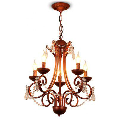 LightMyself YQ1018 - 5 Crystal Chandelier