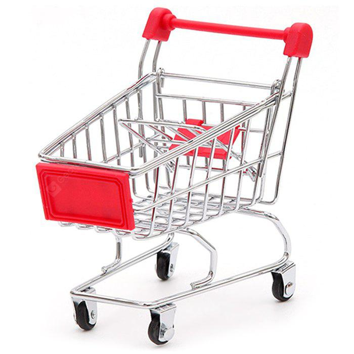 Mini Cute Shopping Cart Toy