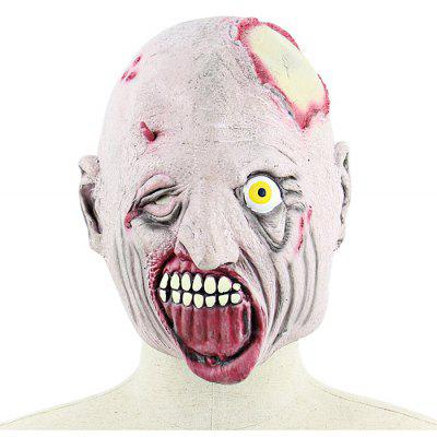 Scary Sick Zombie Latex Mask