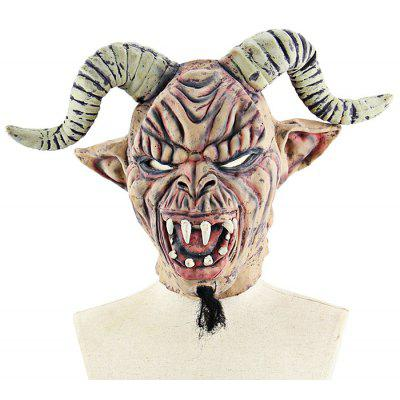 Sheep Horn Monster Latex Mask