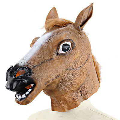 Horsehead Animal Latex Mask