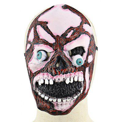 Scary Burst Out Eye Skull Zombie Latex Mask