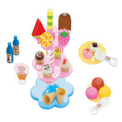 Novelty Play House Ice Cream Kitchen Dessert Toy