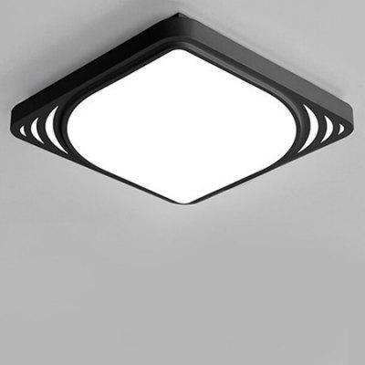 24W 2000LM LED Square Remote Control Ceiling Light 220V