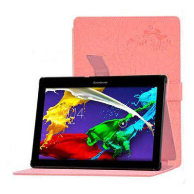 Floral Painting Folding Tablet Case for Lenovo Tab2 A10   70F