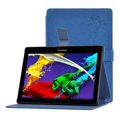 Floral Painting Folding Tablet Case for Lenovo Tab2 A10 - 70F