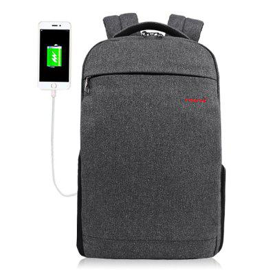 Buy GRAY Tigernu T B3217 USB Port 20L Leisure Backpack Laptop Bag for $29.99 in GearBest store