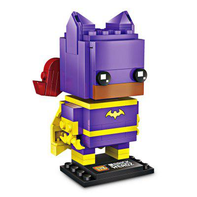 LOZ Mini Particles Super Heroine Building Blocks new magnet game mini enlighten magnetic building blocks models