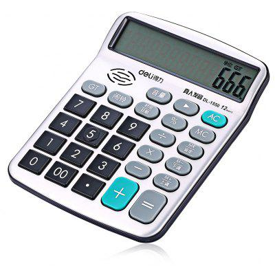Deli 1550A Number Talking Calculator