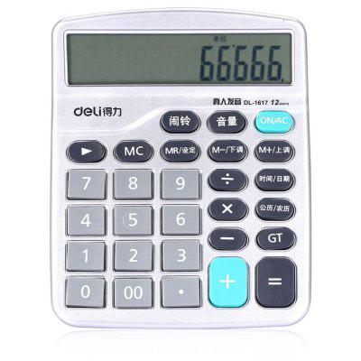 Deli 1617 Number Talking Calculator