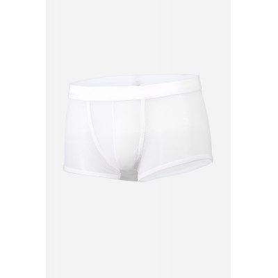 Sheer Mesh Sexy Men Boxers with U-pouch