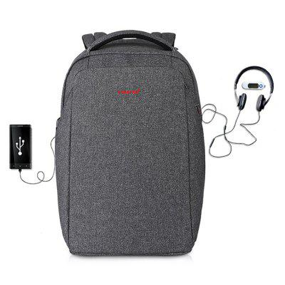 Tigernu T - B3237 Anti-theft Backpack USB Port 20L Laptop BagBackpacks<br>Tigernu T - B3237 Anti-theft Backpack USB Port 20L Laptop Bag<br><br>Bag Capacity: 20L<br>Brand: TIGERNU<br>Capacity: 11 - 20L<br>Features: Laptop Bag, Ultra Light<br>For: Casual, Other, Sports, Traveling<br>Gender: Unisex<br>Package Contents: 1 x Tigernu Backpack<br>Package size (L x W x H): 31.00 x 8.00 x 28.00 cm / 12.2 x 3.15 x 11.02 inches<br>Package weight: 1.3210 kg<br>Product size (L x W x H): 30.00 x 14.00 x 44.00 cm / 11.81 x 5.51 x 17.32 inches<br>Product weight: 1.0000 kg<br>Strap Length: 45 - 80cm<br>Style: Fashion<br>Type: Backpack