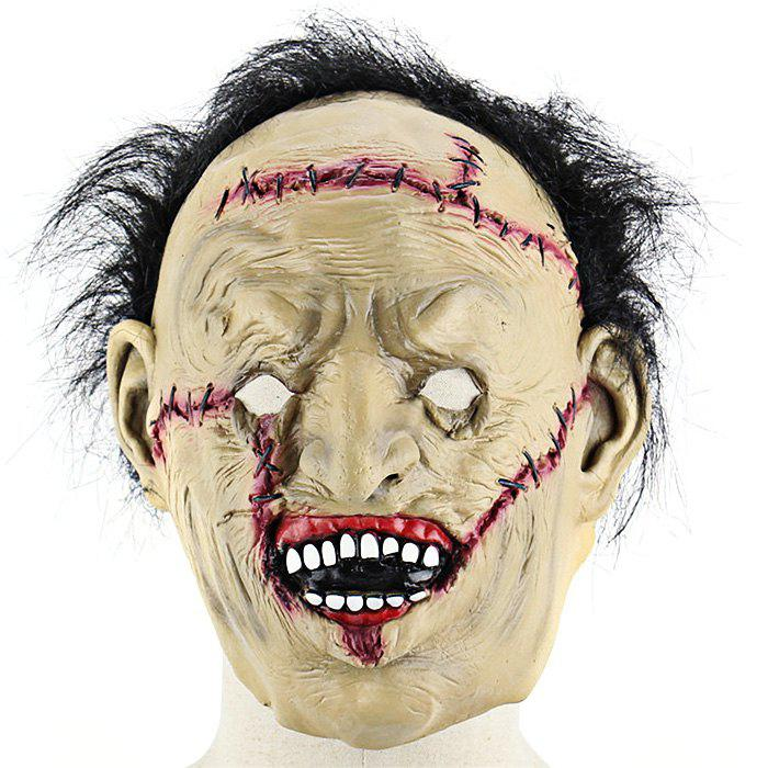 Terrifying Scarred Face Science Freak Latex Mask