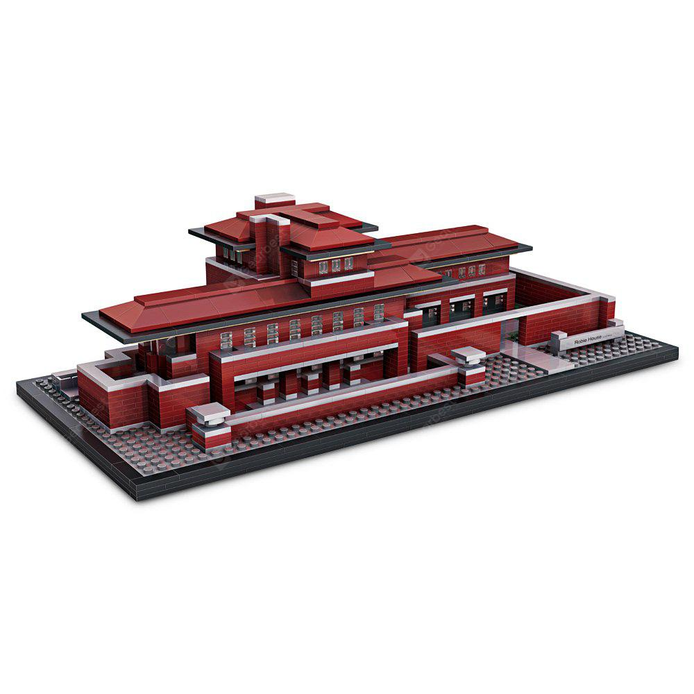 Loz 2115pcs Mini Robie House Building Block Educational Toy