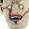 Terrifying Scarred Face Science Freak Latex Mask - EARTHY