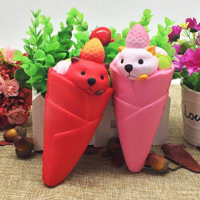 Stress Relief Simulation Food LittleBear Ice Cream Squishy ToySquishy toys<br>Stress Relief Simulation Food LittleBear Ice Cream Squishy Toy<br><br>Age Range: &gt; 3 years old<br>Materials: PU<br>Package Content: 1 x Squishy Toy<br>Package Dimension: 8.00 x 8.00 x 18.00 cm / 3.15 x 3.15 x 7.09 inches<br>Package Weights: 0.0850kg<br>Pattern Type: Snack<br>Product Dimension: 6.00 x 6.00 x 16.00 cm / 2.36 x 2.36 x 6.3 inches<br>Product Weights: 0.0470kg<br>Products Type: Squishy Toy