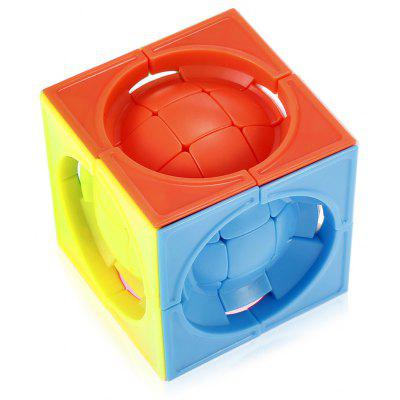 Deformato 3 x 3 x 3 Centrosphore Magic Cube