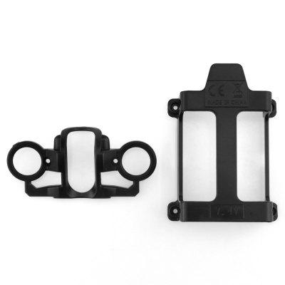 Original MJX B80007 Battery Holder + Headlight CoverRC Quadcopter Parts<br>Original MJX B80007 Battery Holder + Headlight Cover<br><br>Brand: MJX<br>Compatible with: Bugs 6 RC quadcopter<br>Package Contents: 1 x Battery Holder, 1 x Headlight Cover<br>Package size (L x W x H): 12.00 x 18.00 x 2.40 cm / 4.72 x 7.09 x 0.94 inches<br>Package weight: 0.0350 kg<br>Product weight: 0.0091 kg<br>Type: Battery Cover, Light Cover