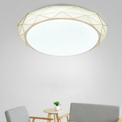 24W 2400LM LED Simple Creative Round Shape Ceiling Light 220V