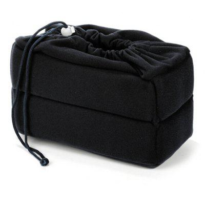 Velvet Insert Padded Camera Bag for DSLR