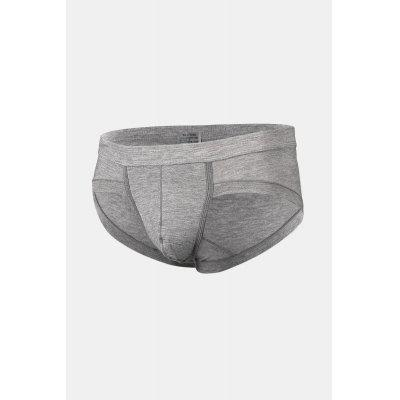 Men Breathable Modal Briefs with U-pouch