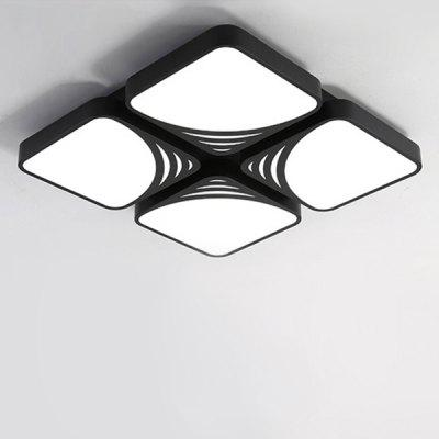 48W 4400LM LED Creative Ceiling Light 220V Square Shape
