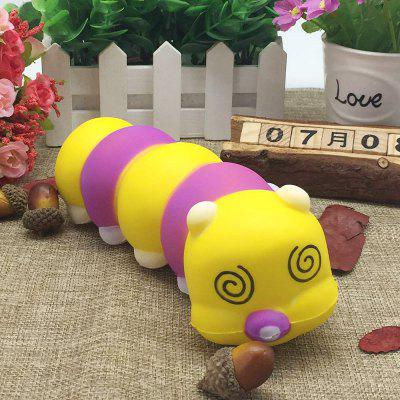 Mini Slow Rising Drowsy Caterpillar PU Squishy Toy