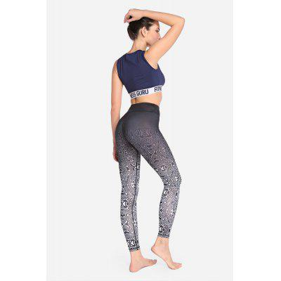 Elastic Skinny Fitness Pants Quick-drying Leggings for WomenYoga<br>Elastic Skinny Fitness Pants Quick-drying Leggings for Women<br><br>Closure Type: Elastic Waist<br>Features: High elasticity, Breathable, Quick-Dry<br>Gender: Female<br>Material: Polyester, Spandex<br>Package Content: 1 x Pair of Pants<br>Package size: 30.00 x 35.00 x 0.50 cm / 11.81 x 13.78 x 0.2 inches<br>Package weight: 0.3200 kg<br>Product weight: 0.2500 kg<br>Types 1: Leggings