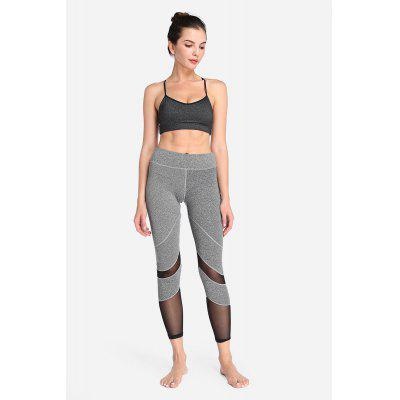 Pantaloni in pizzo elastico magliettato a forma di pantalone Quick-drying Leggings per le donne