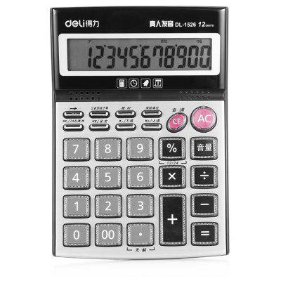Deli 1526 12bit Number Calculator