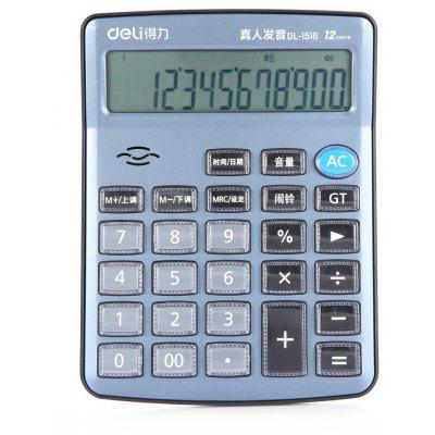 Deli 1516 Talking Calculator