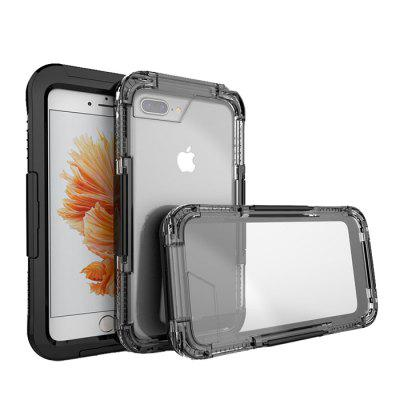 Waterproof Case for iPhone 7 PlusiPhone Cases/Covers<br>Waterproof Case for iPhone 7 Plus<br><br>Features: Anti-knock, FullBody Cases, Sports Case, Waterproof Case<br>Material: PC<br>Package Contents: 1 x Phone Case<br>Package size (L x W x H): 9.00 x 2.00 x 17.00 cm / 3.54 x 0.79 x 6.69 inches<br>Package weight: 0.0400 kg<br>Product size (L x W x H): 8.00 x 1.00 x 16.00 cm / 3.15 x 0.39 x 6.3 inches<br>Product weight: 0.0200 kg<br>Style: Transparent