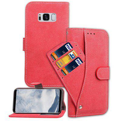 Leather Wallet Case Phone Cover