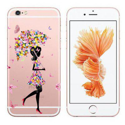 Butterfly Pretty Girl TPU Case