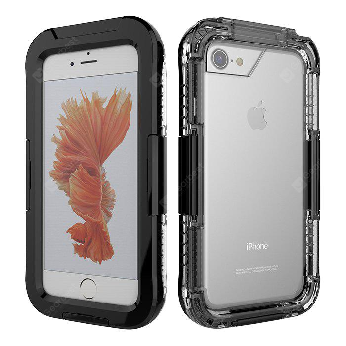 IP67 Waterproof Case Anti-dust Cover Diving Protector Shell for iPhone 7
