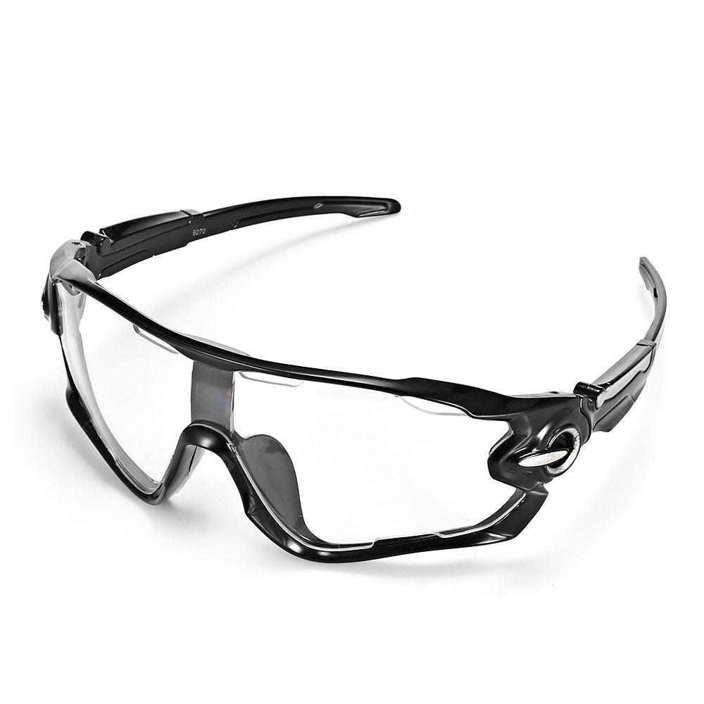 TRANSPARENT Trendy Sports Style Cycling Sunglasses